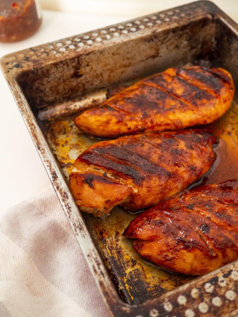 Heerlijke sweet and spicy chicken