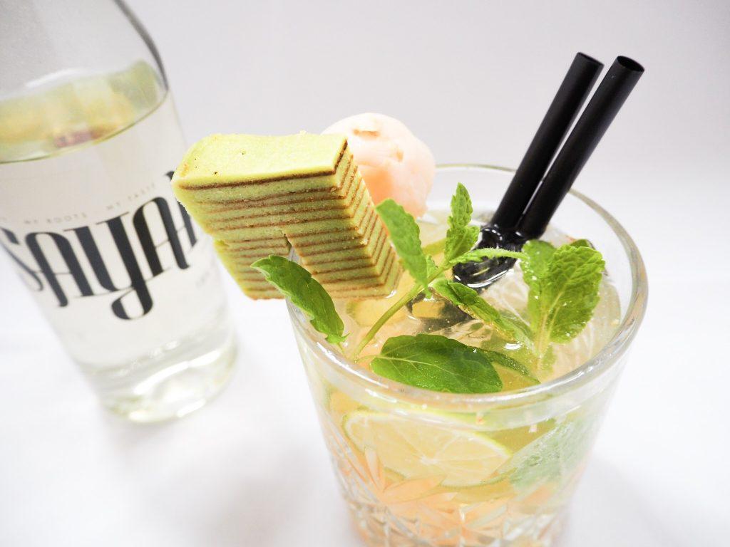 Ticket 2 Bali cocktail met sayah spekkoek likeur