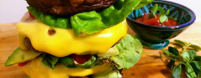 11. Gluten-vrije portobelloburger