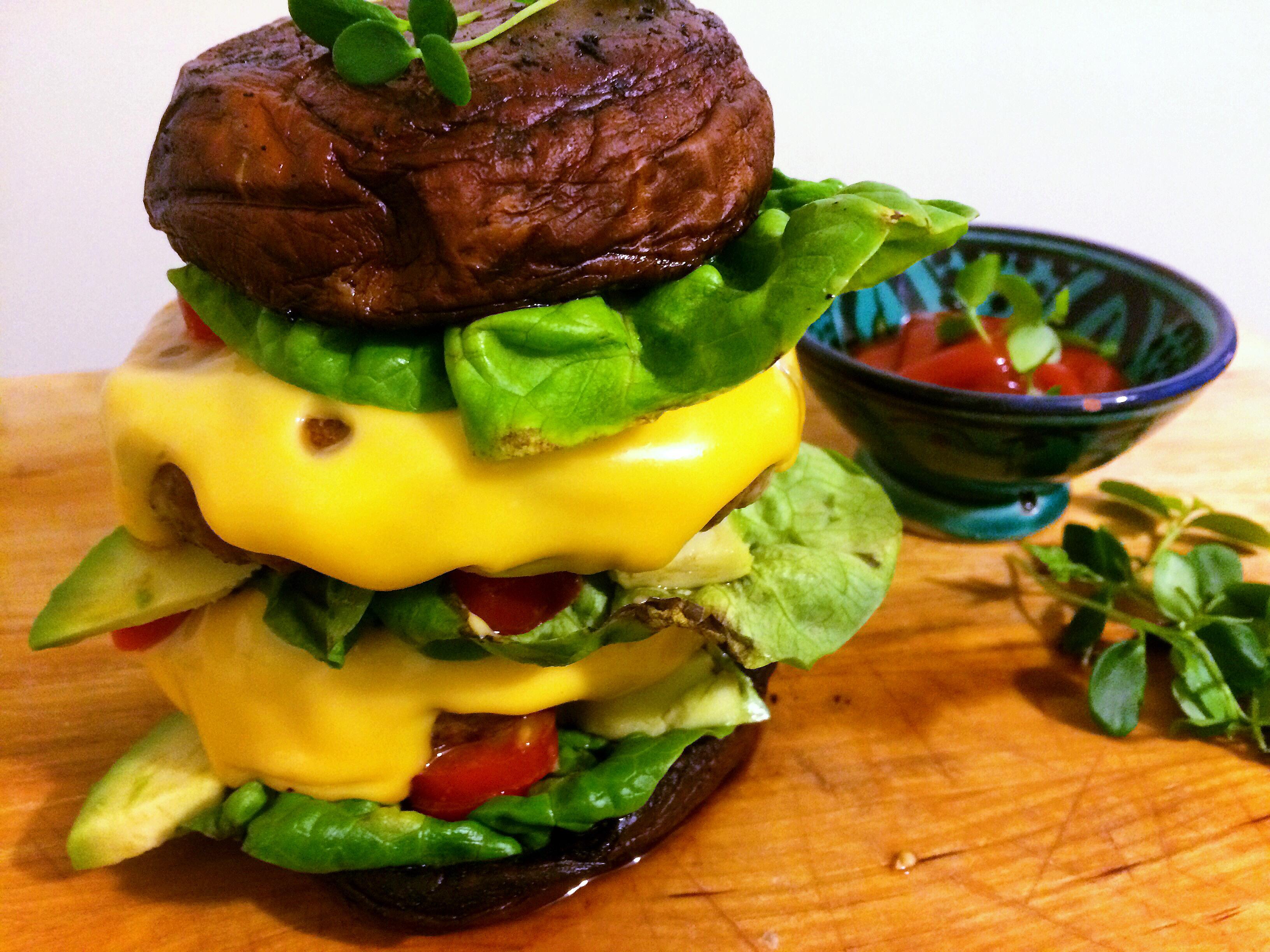 Portobello Burger (glutenvrij)