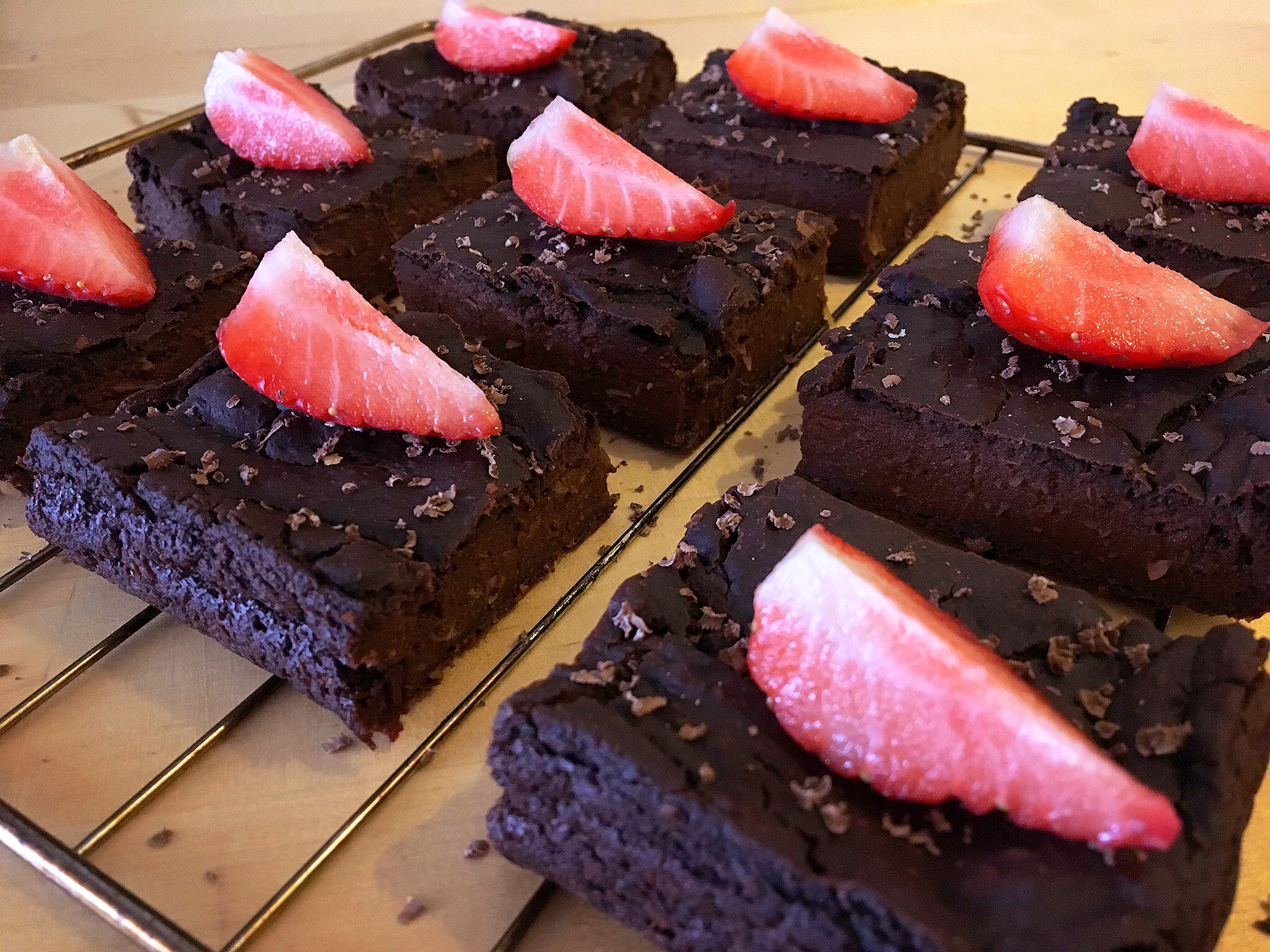 vegan brownies met pompoen