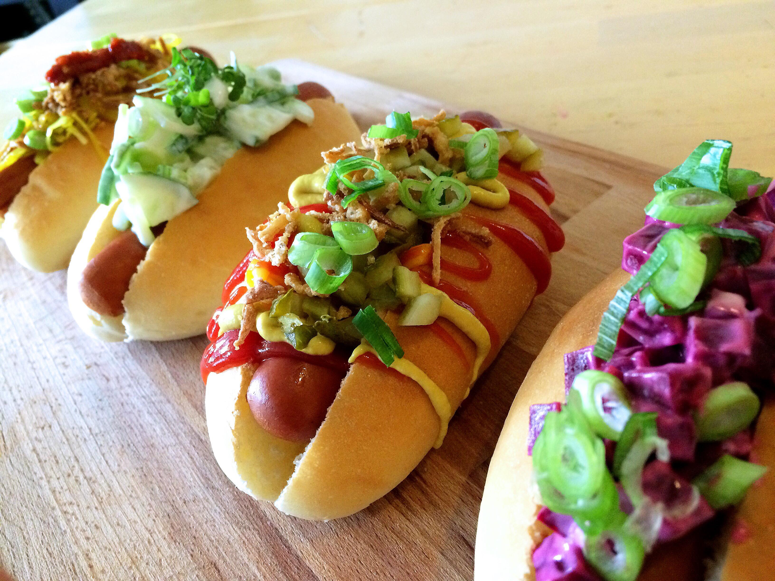 9. 4x broodje hotdog