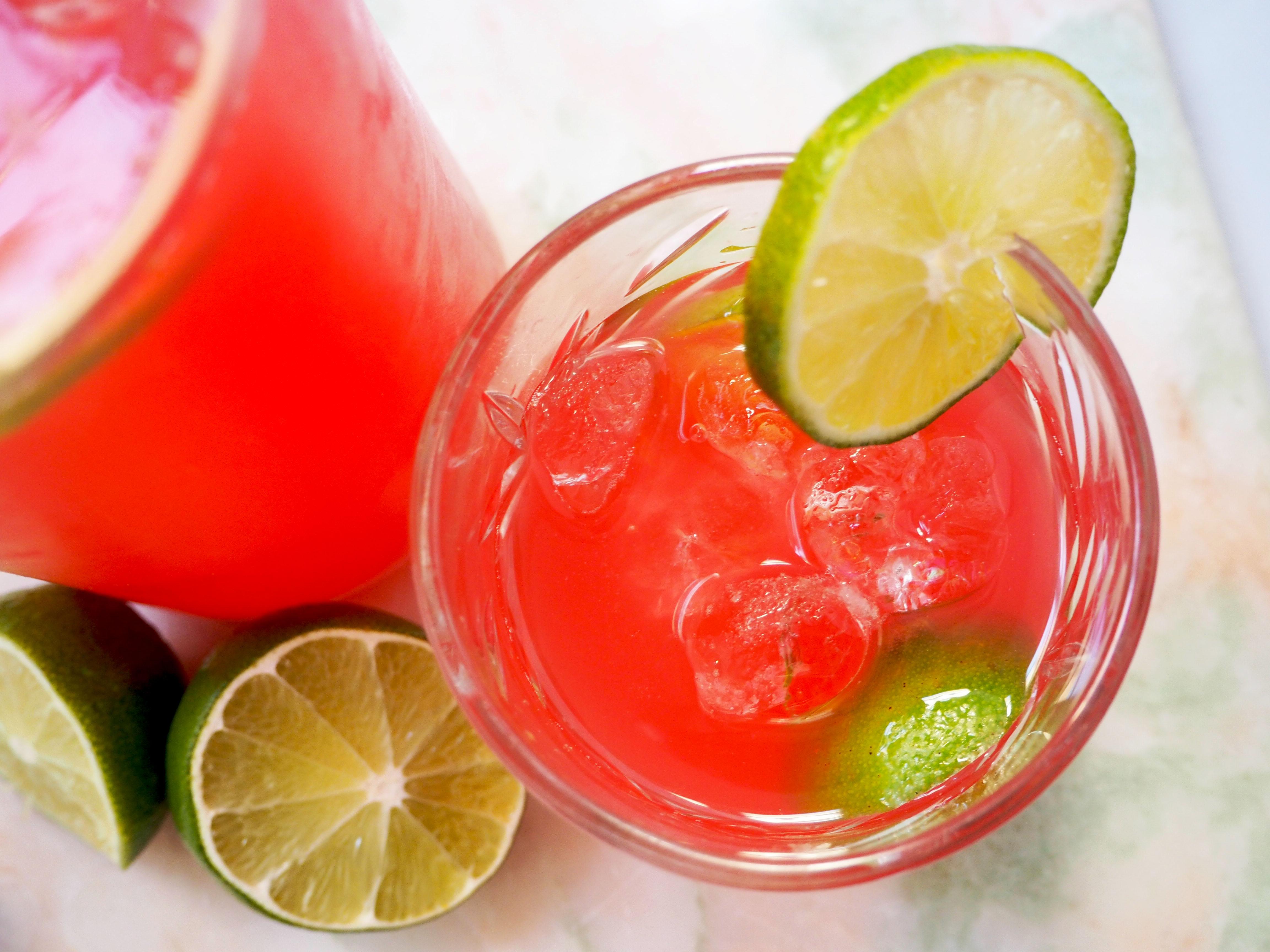 rabarber limoen limonade