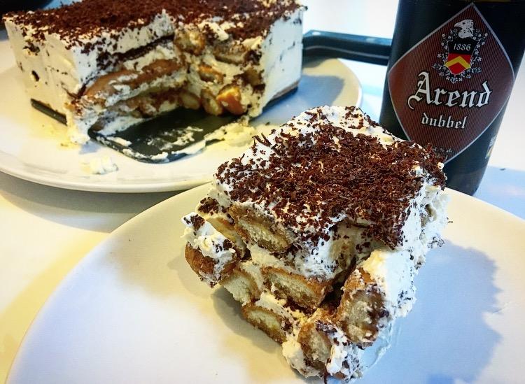 Bieramisu met Arend Dubbel en Belgische chocolade