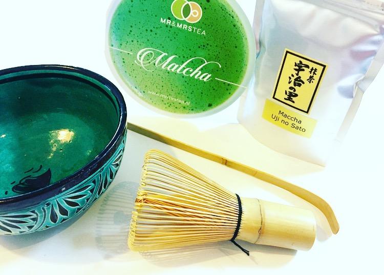 Koken met Matcha groene thee