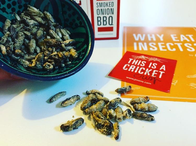 Eetbare insecten van Jimini's: krokant en smakelijk!