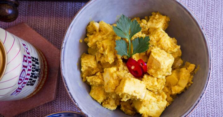 Tahoe boemboe Bali (Tofu mt Balinese kruiden)