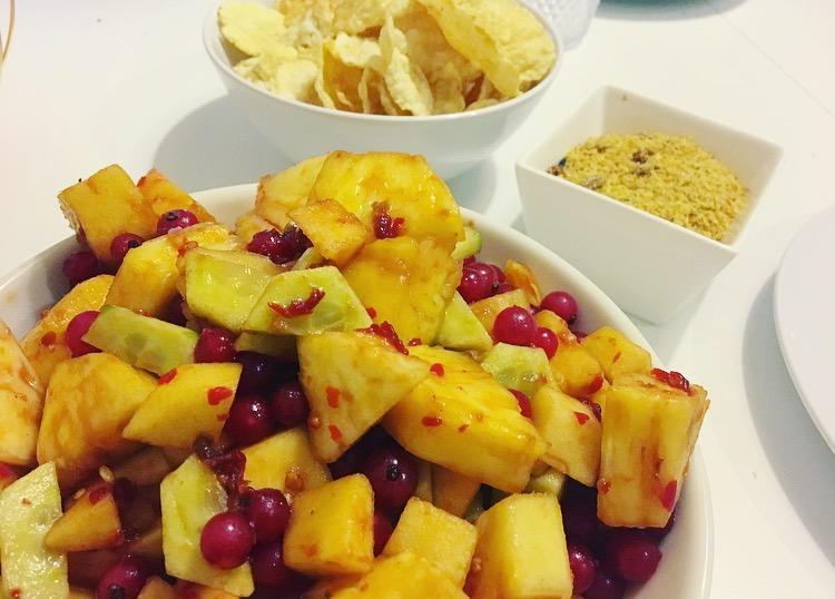 Roedjak Manis: Indische, zoetpikante fruitsalade