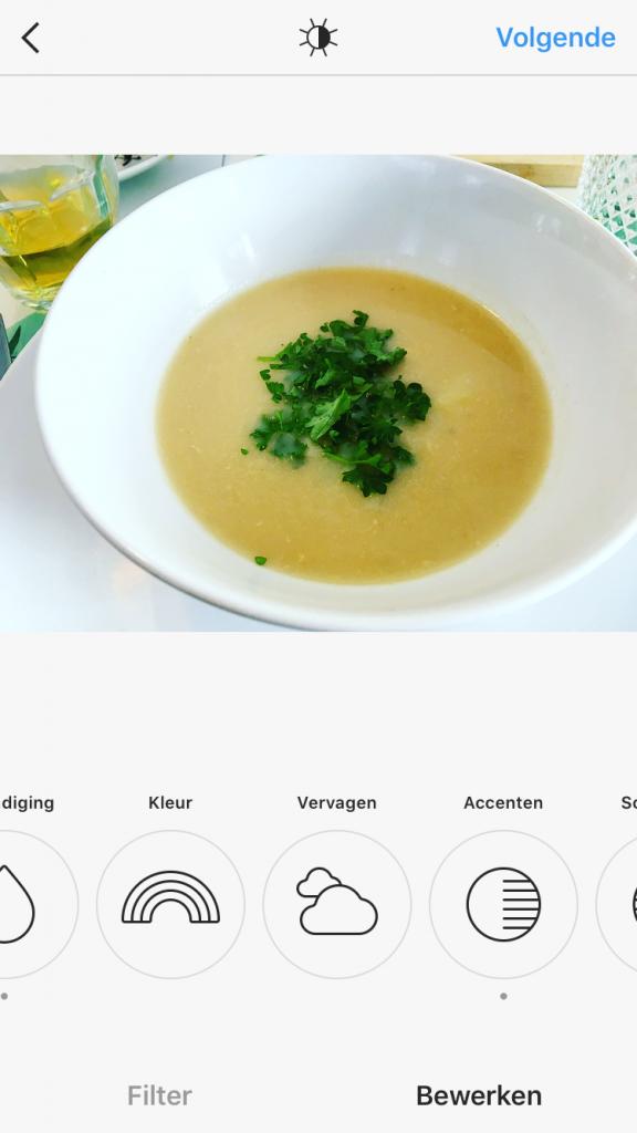 koken met asperges: asperge soep