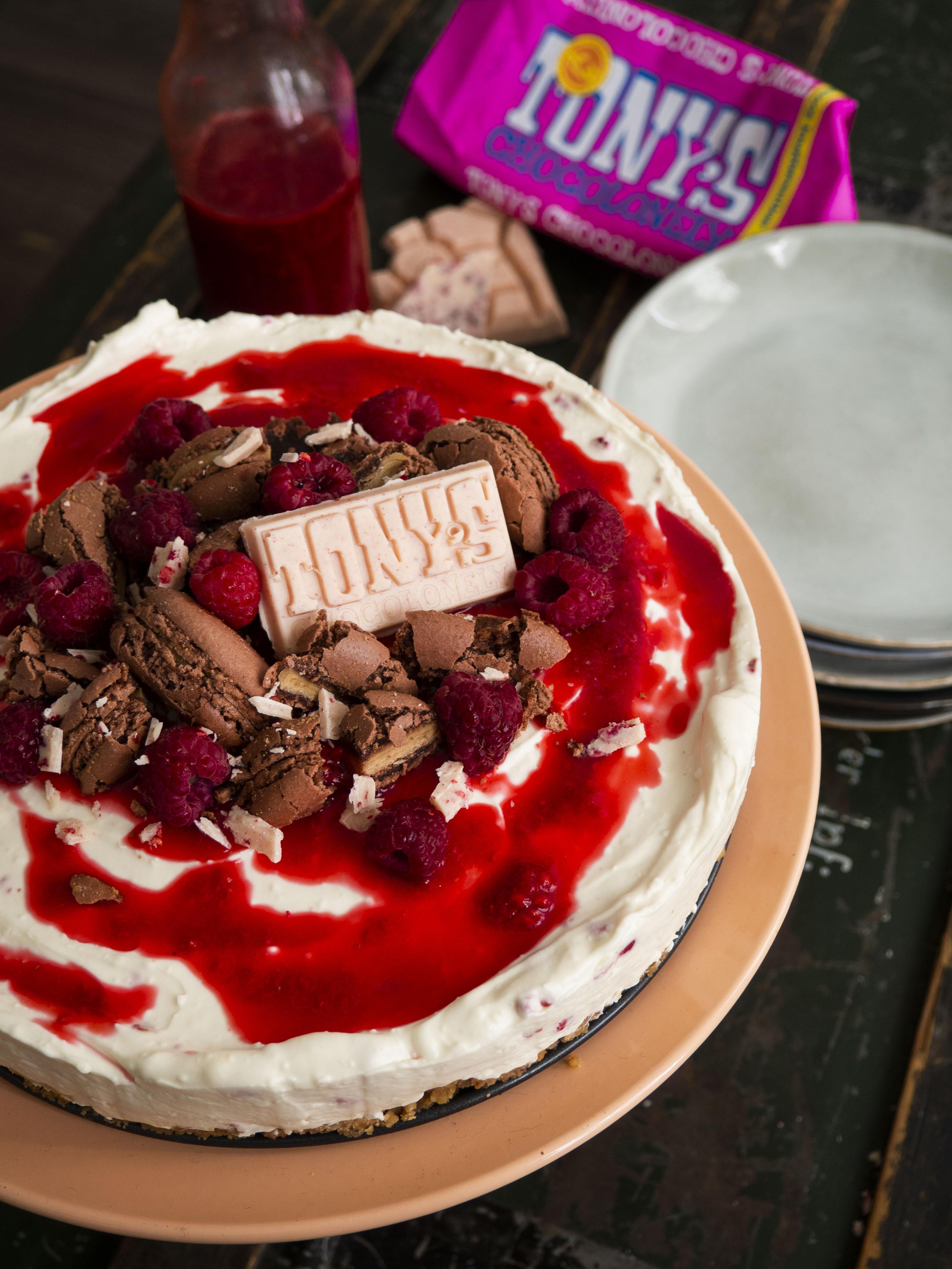 tony's chocolonely chocoladetaart