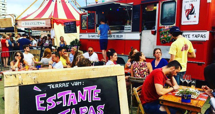 Heerlijk streetfood happen bij Festival Trek