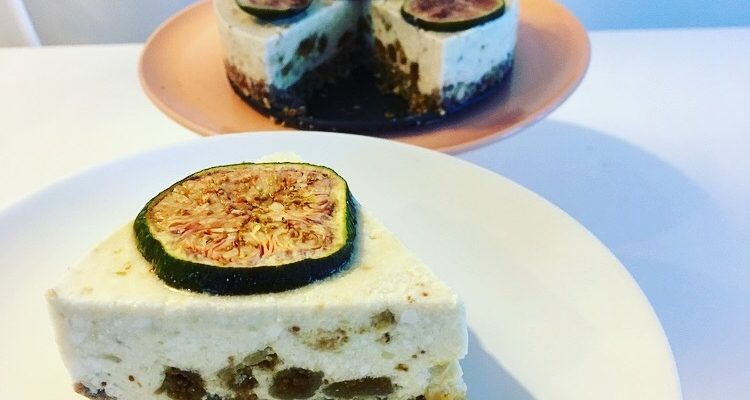 Dadel vijgen cheesecake met Stapleton yoghurt
