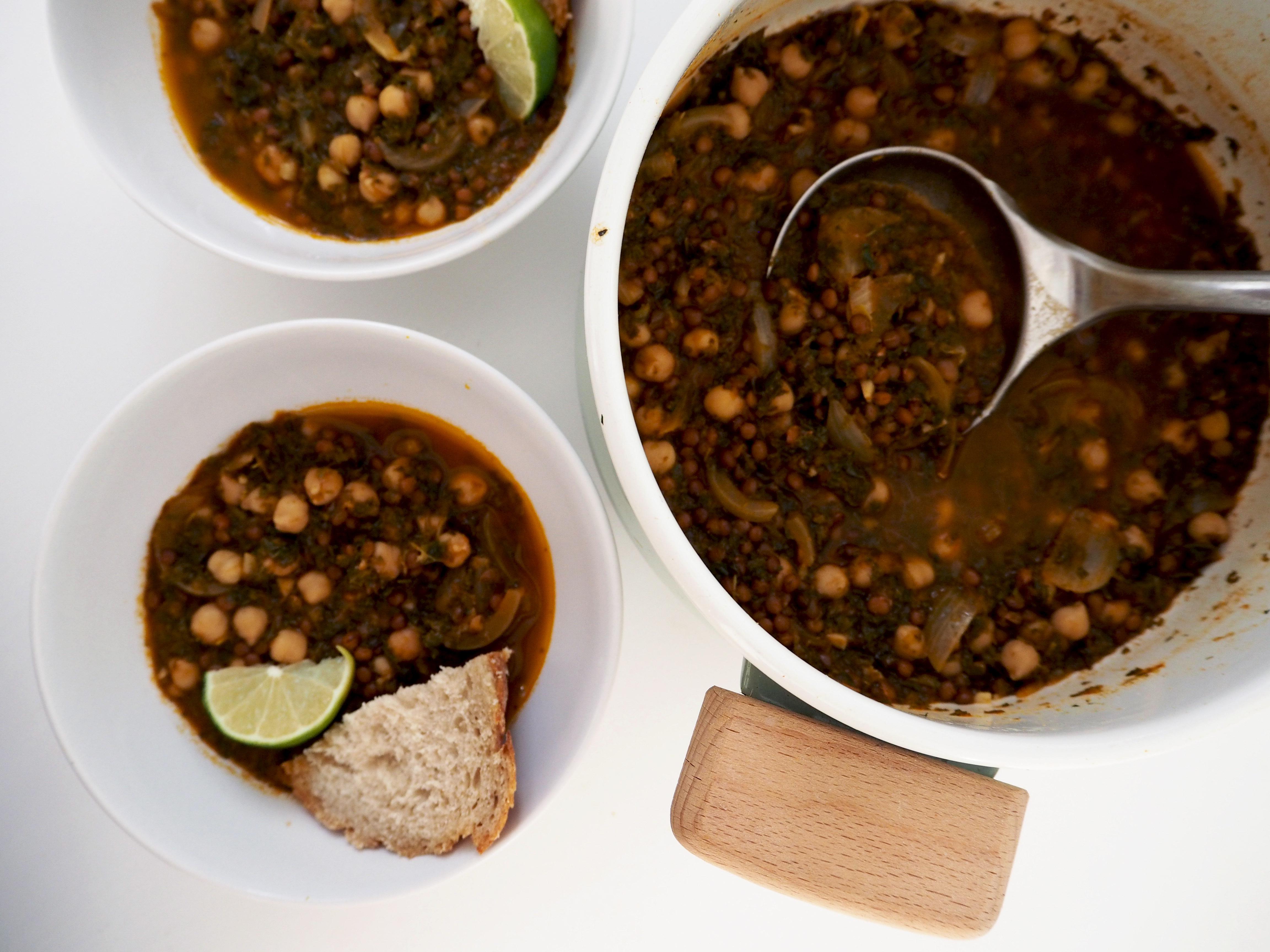 linzen- boerenkool soep