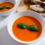 kuukskes tomaten- paprikasoep