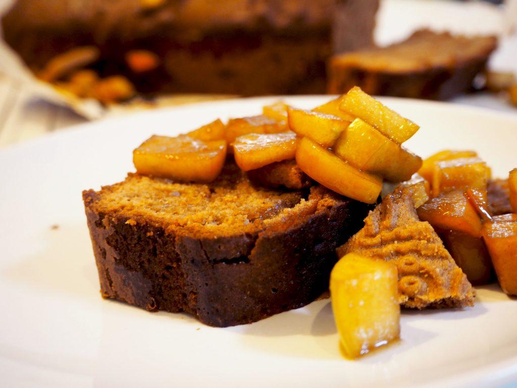 Speculaascake met appel – herfstrecept