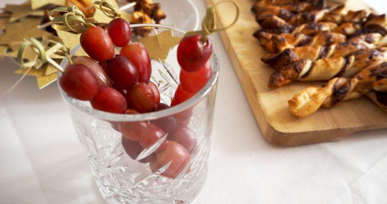 Garneertip: druiven op een stokje – borrel