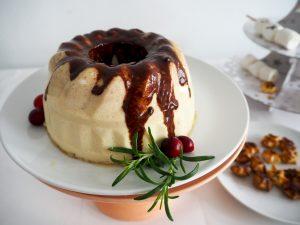 bitterkoekjes pudding met amaretto