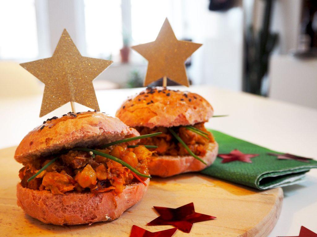 Pulled chicken met chorizo en kikkererwten – hoofdgerecht