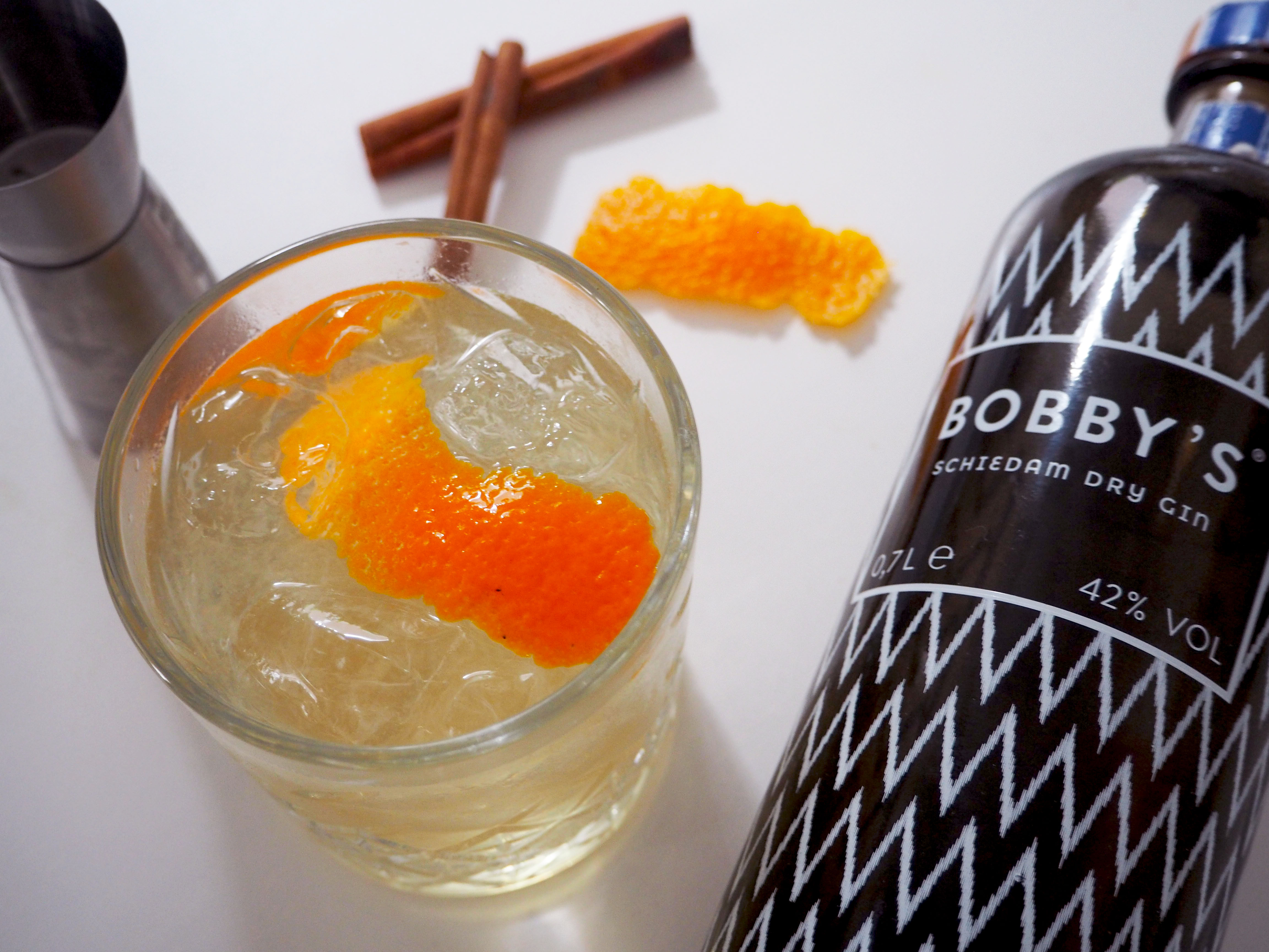 Gin Gingerale met citrusvruchten – borrel