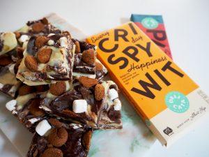 chocolade fudge crispy wit en puur