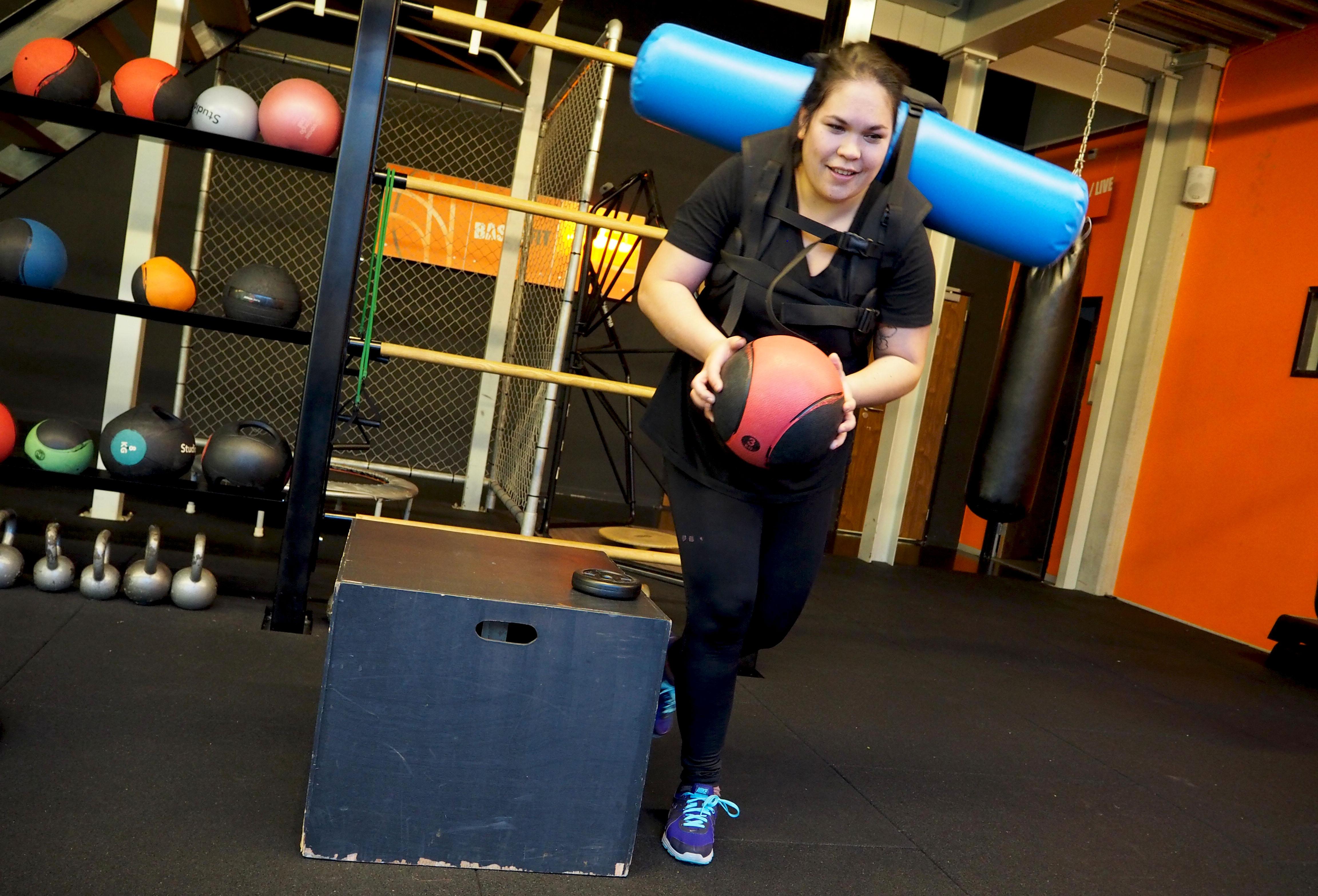 aqua bags BFIT personal training