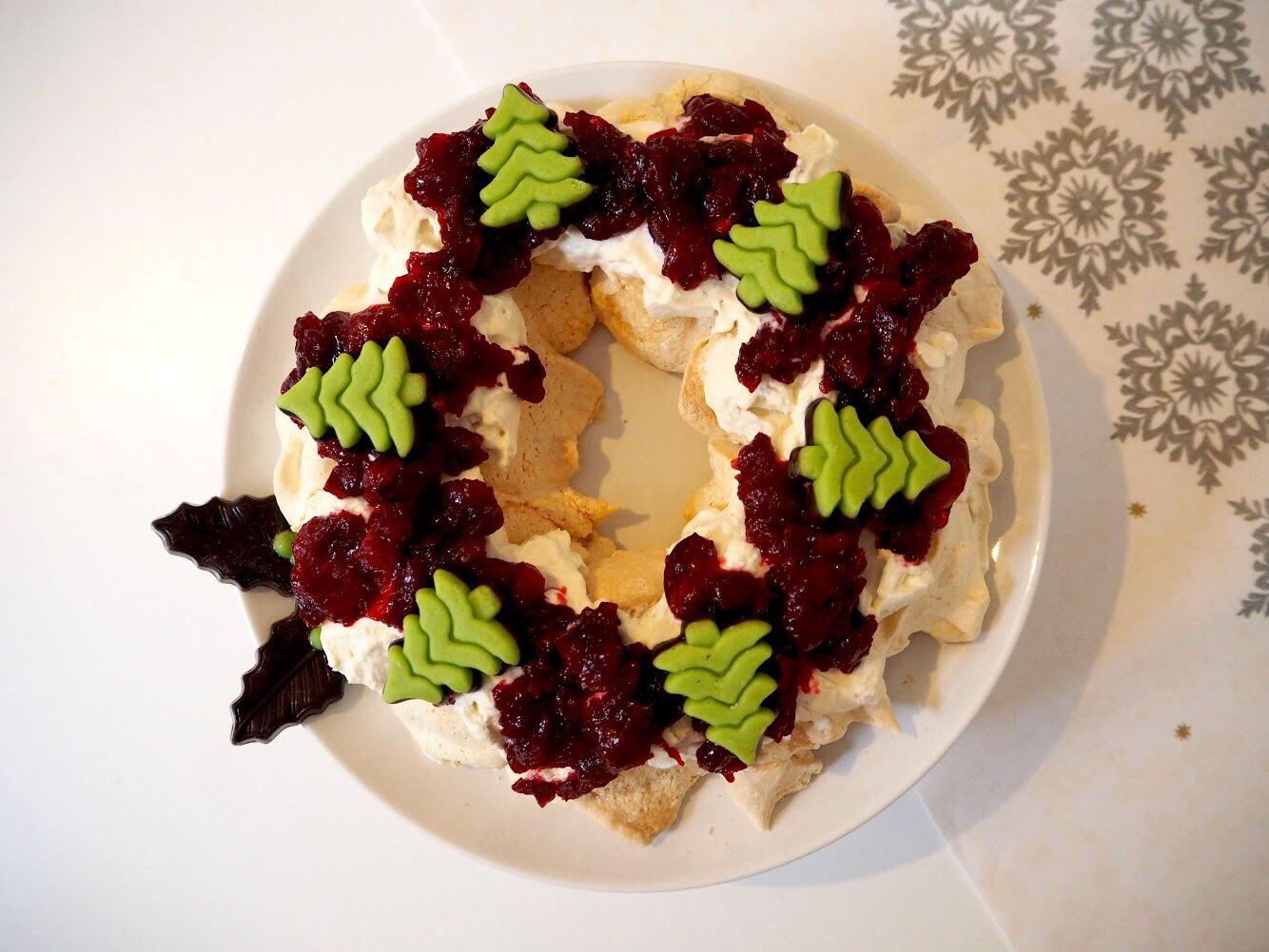 vrienden van ah kerstkrans meringue