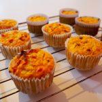 kleurrijke stamppot muffins