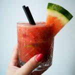 watermeloen punch met limoen