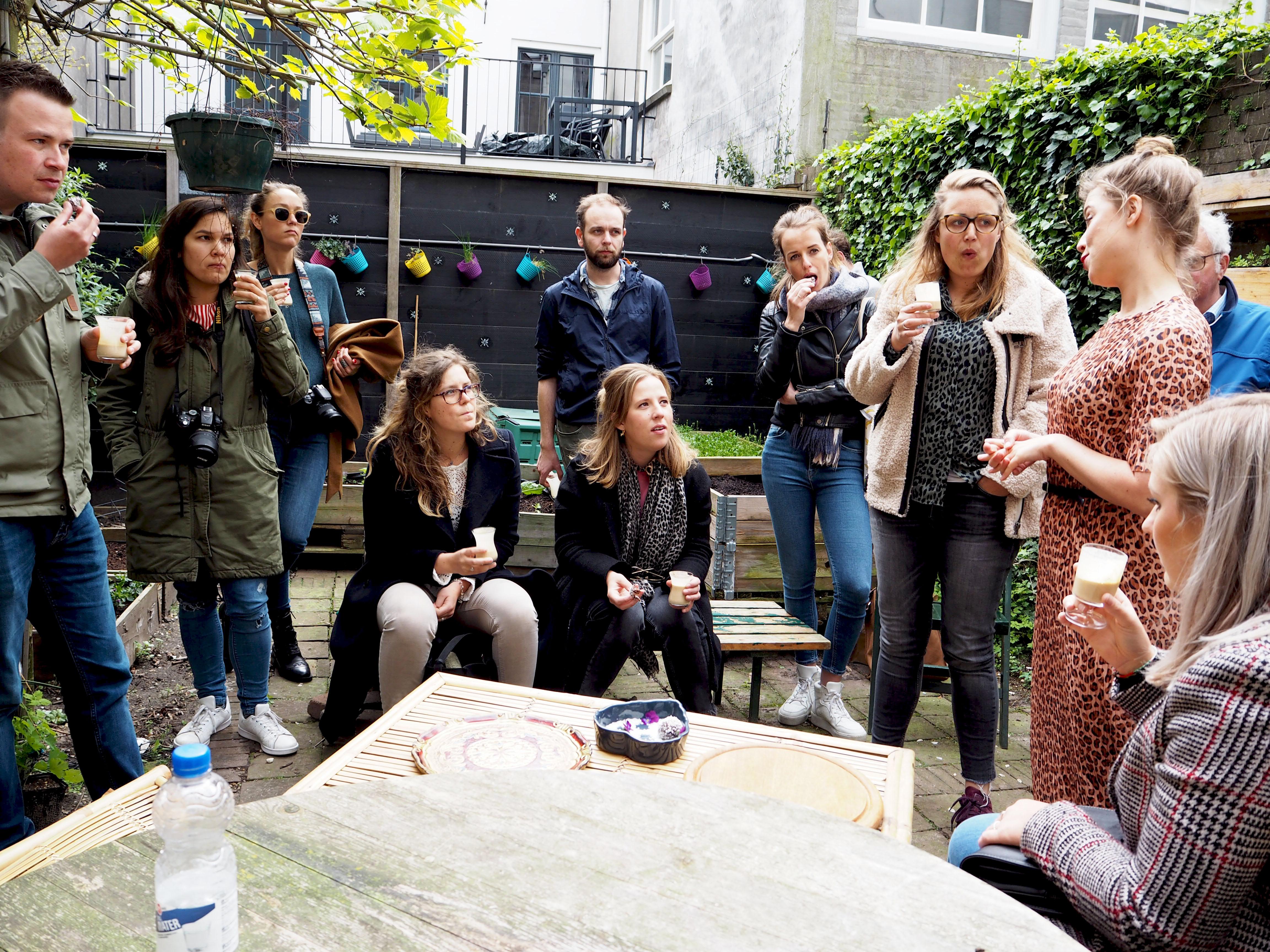 bloggers inspiratietour koffiekaartje