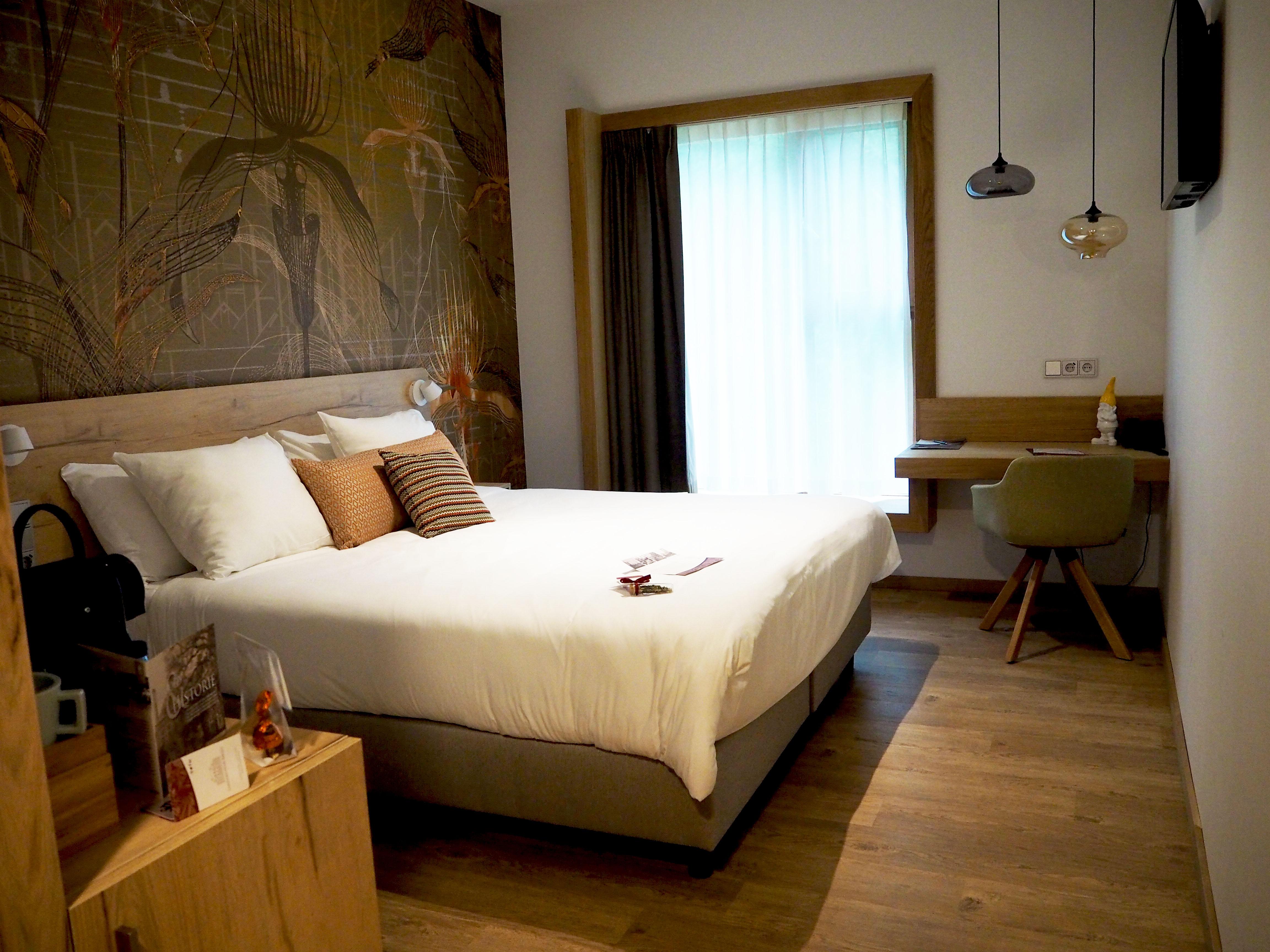 Deluxe tweepersoons hotelkamer huize Bergen