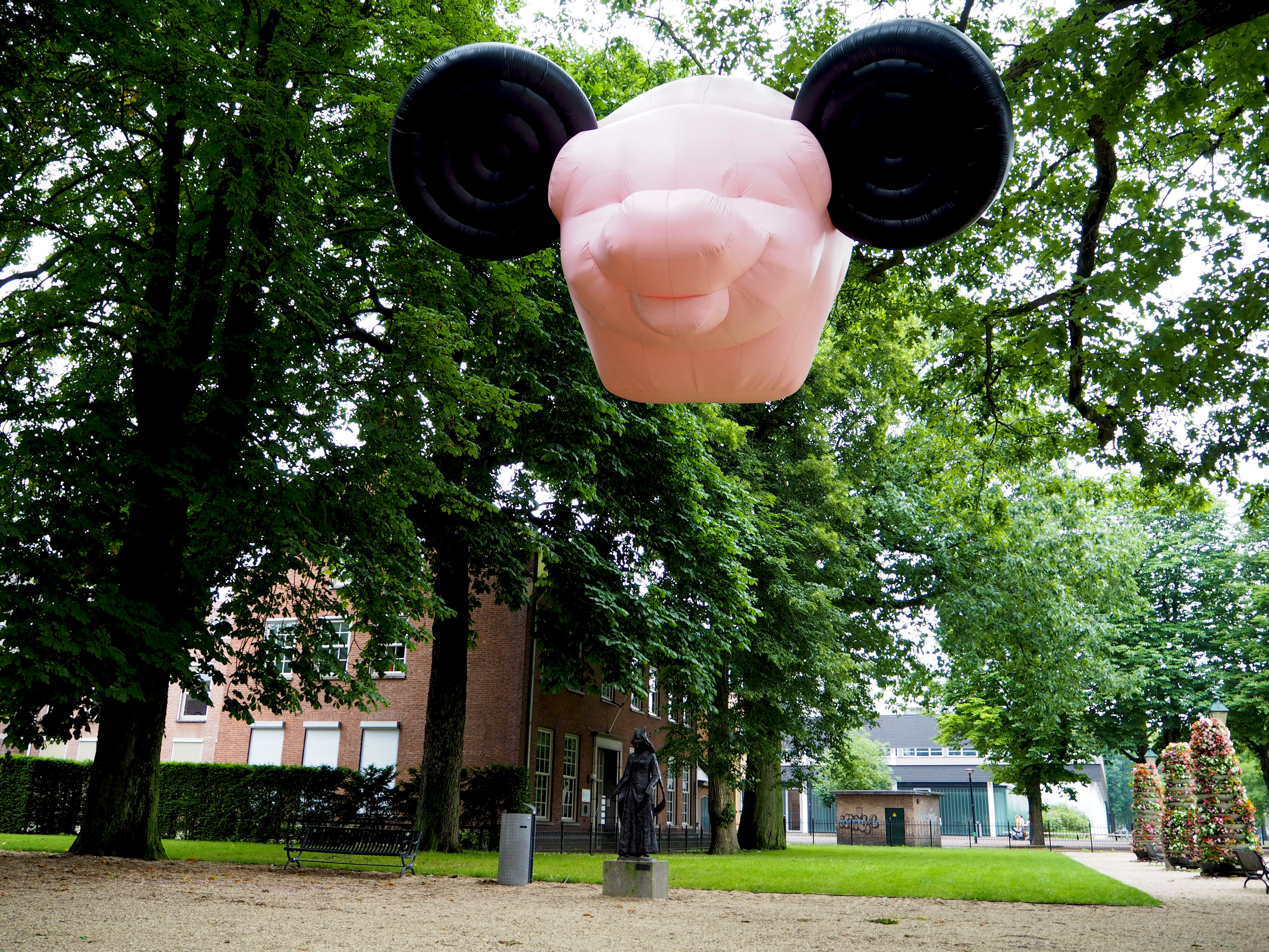 mickey the pig van Florentijn Hofman