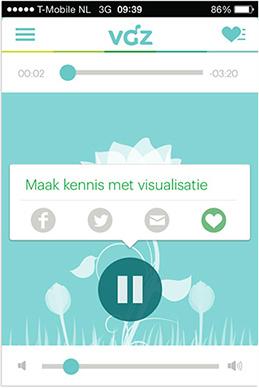 VGZ mindfulness coach app