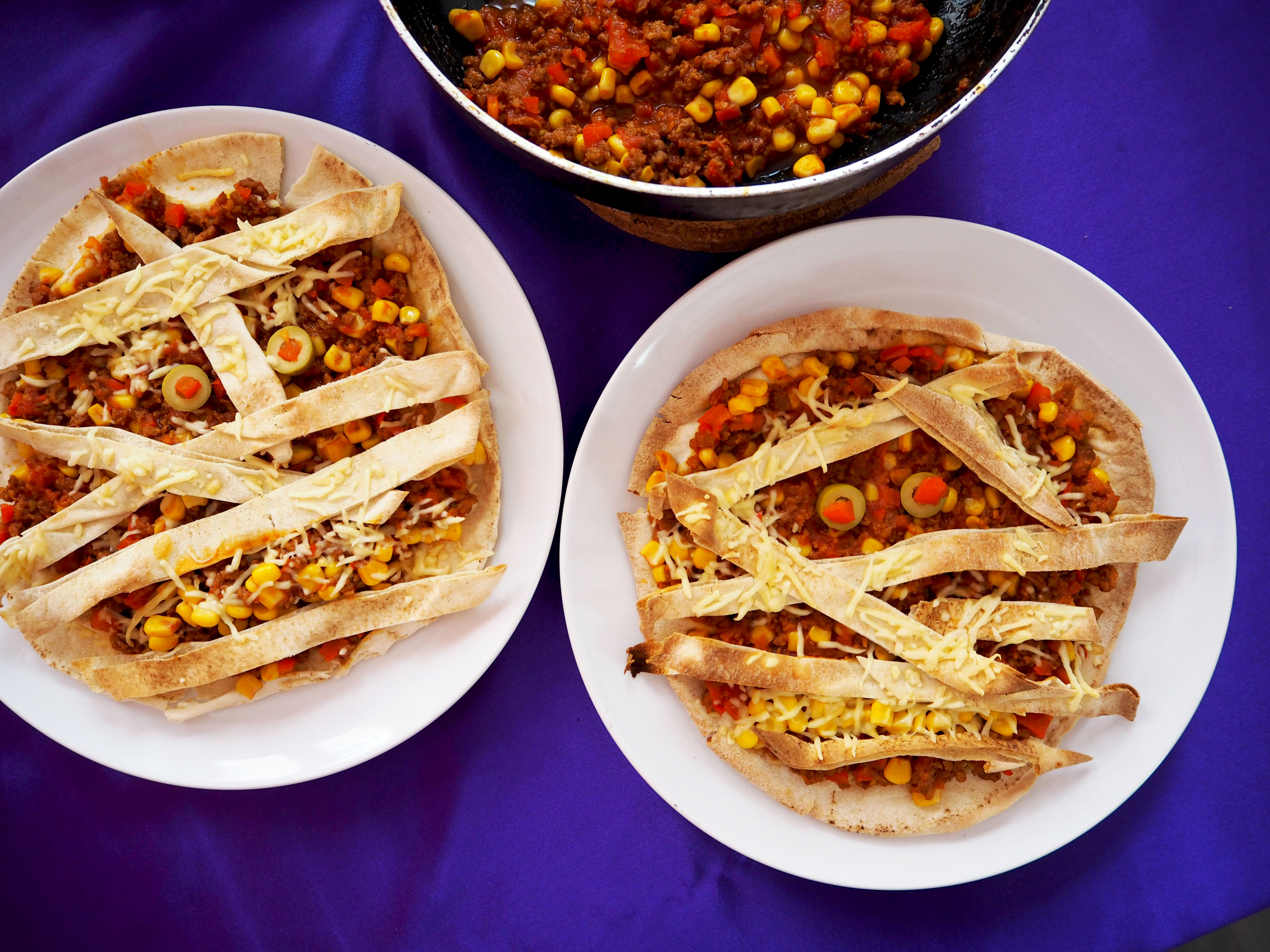 mummie pizza van tortilla's