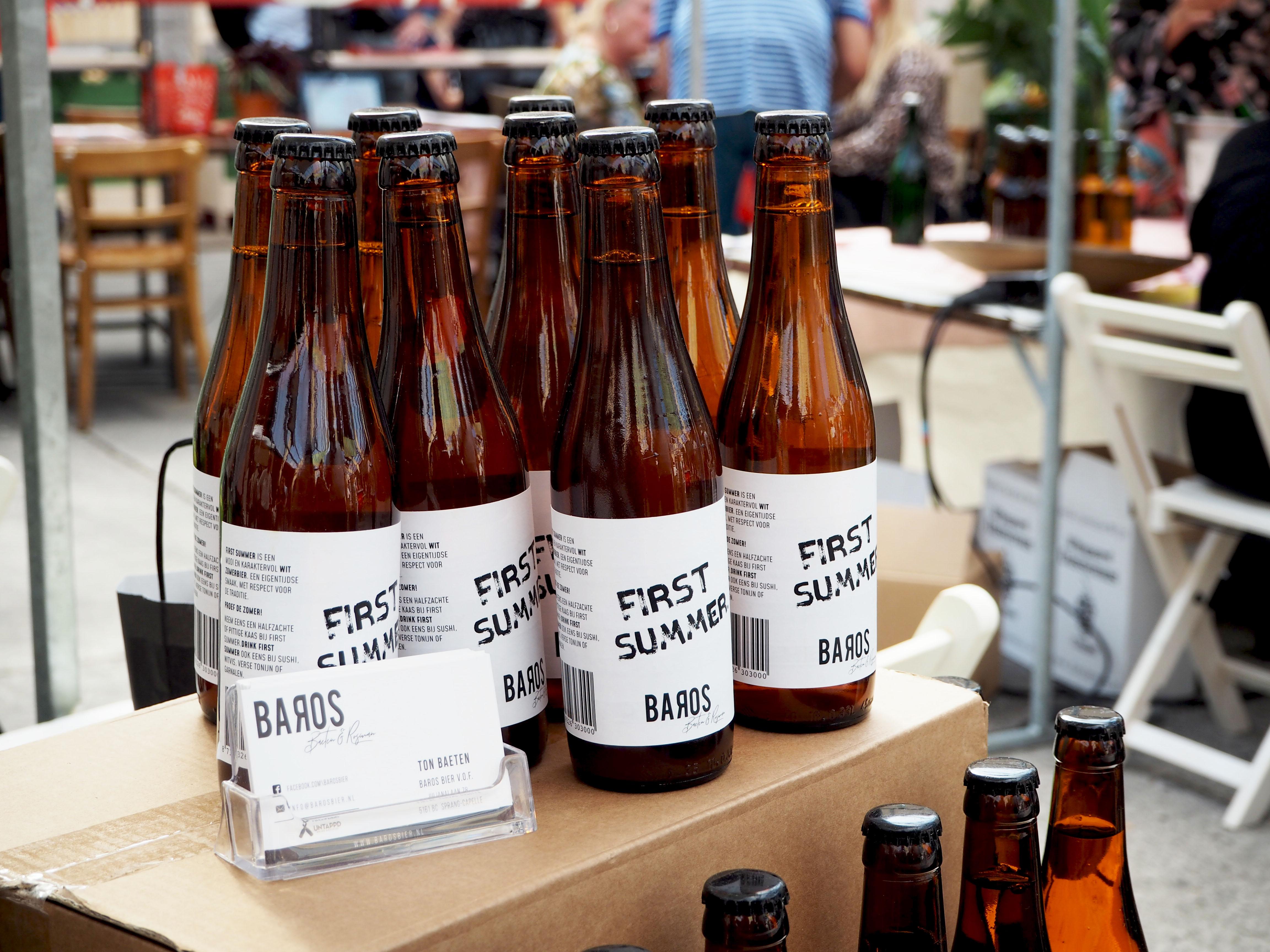 Baros bier en biersiroop
