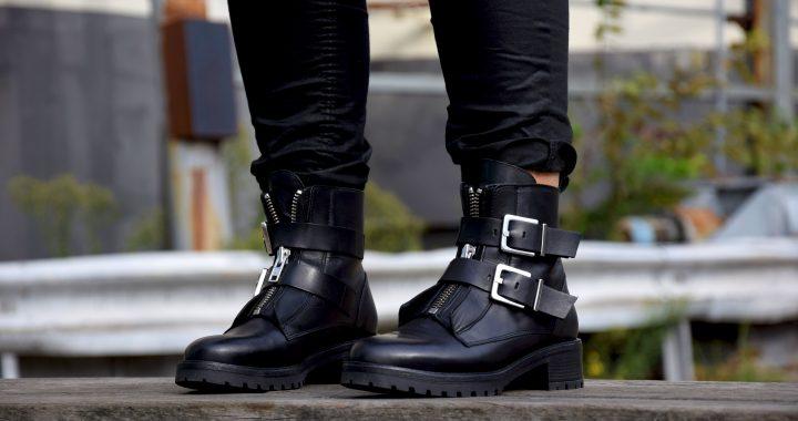 Kuukskes' winter essentials: de biker boots
