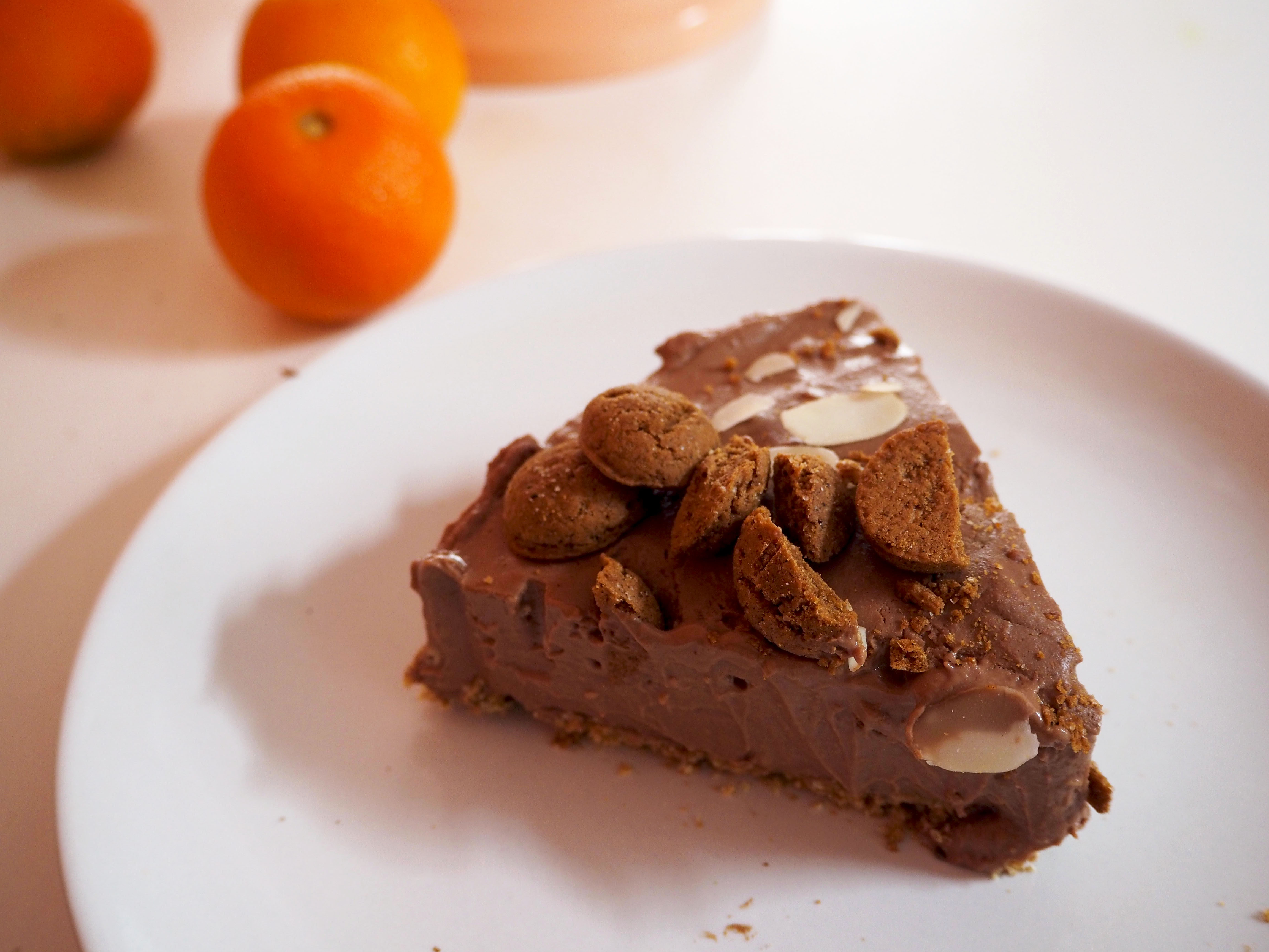 kruidnoten nobake cheesecake