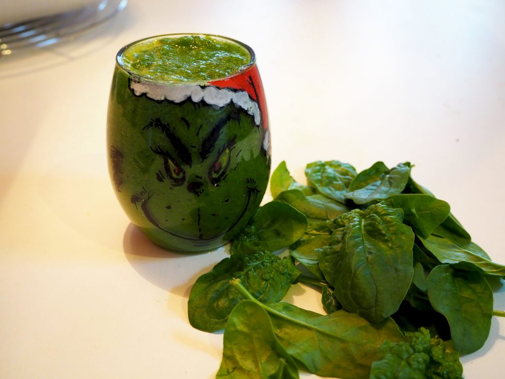 THE GRINCH RECEPT: Grinchy groene smoothie