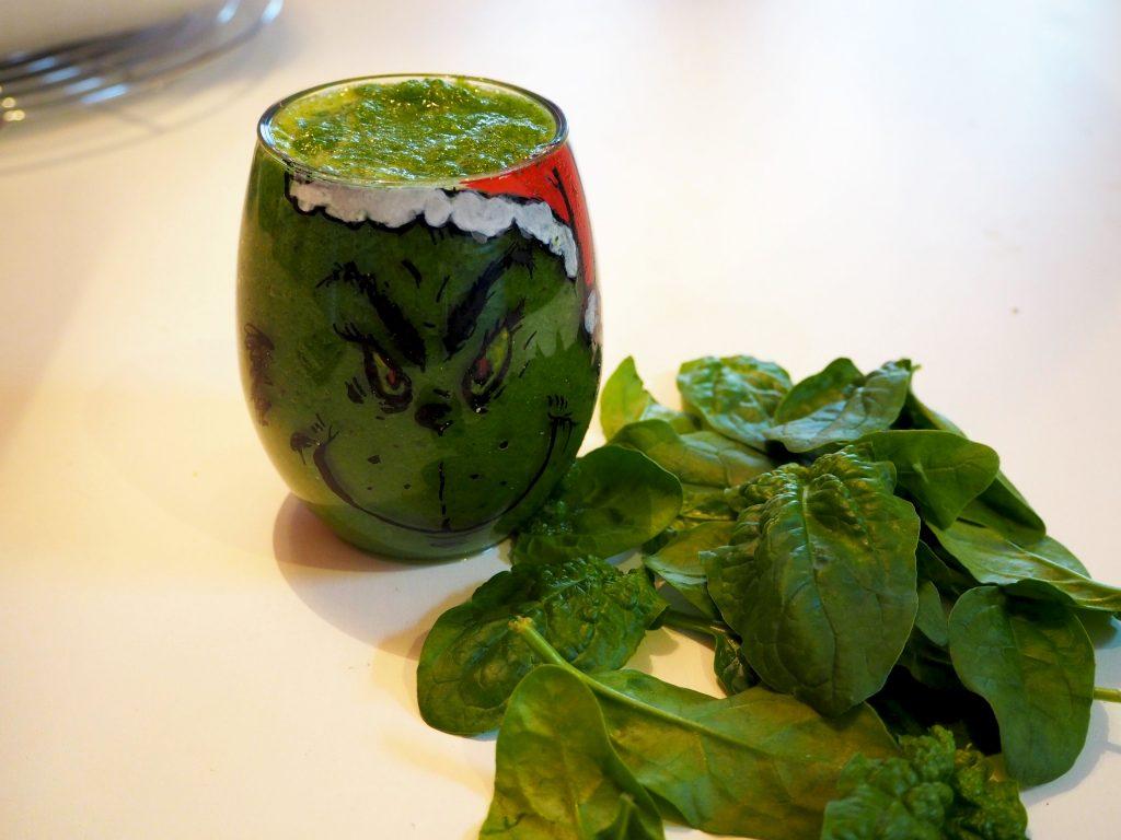grinch recept groene smoothie