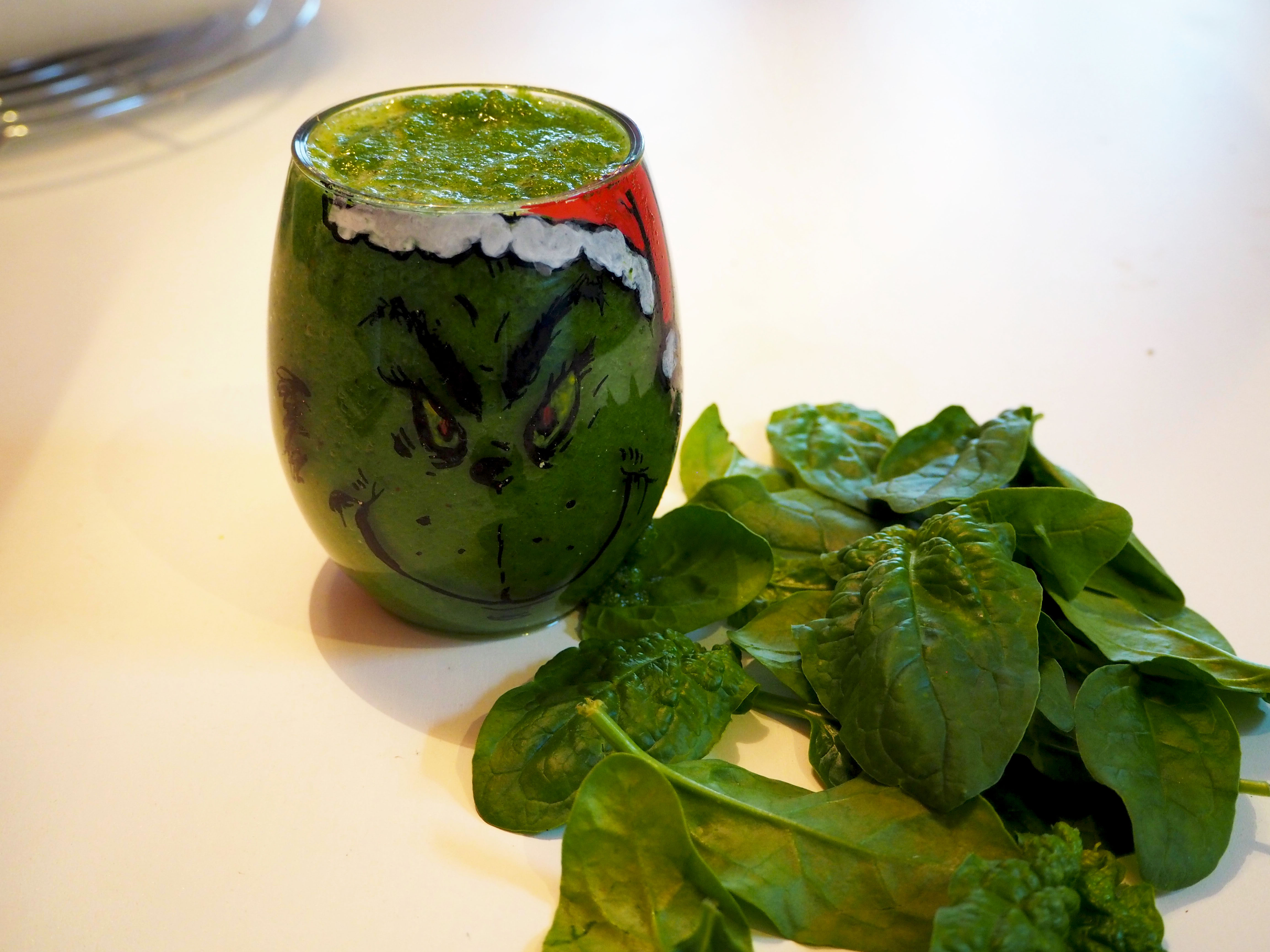grinch recept groene smoothie
