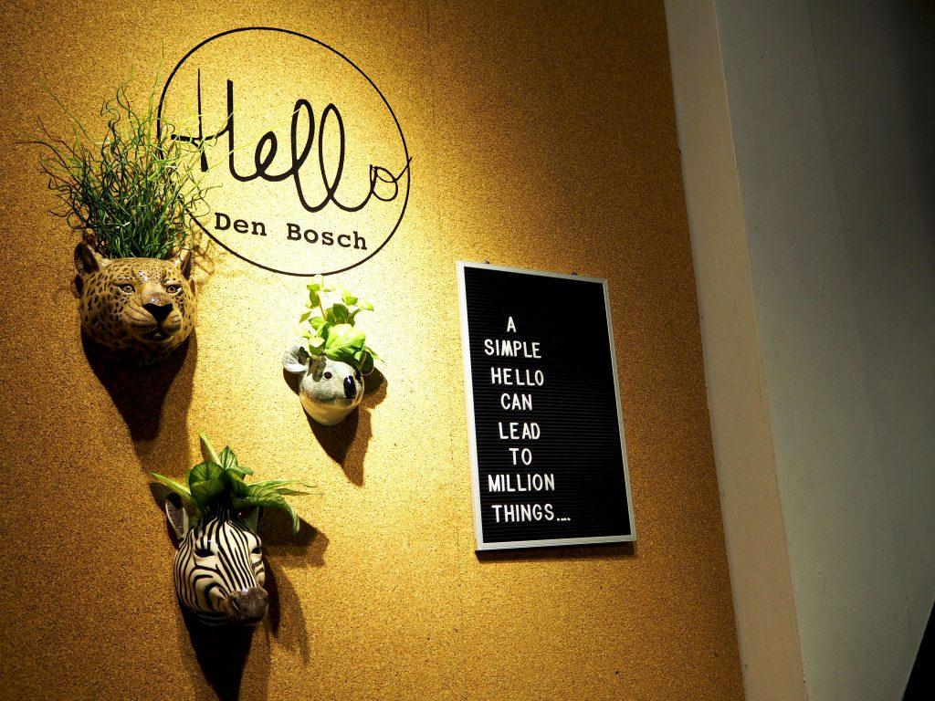 WIN MET HELLO DEN BOSCH: Een super leuk letterbord
