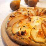 Pizza peer en tonijn