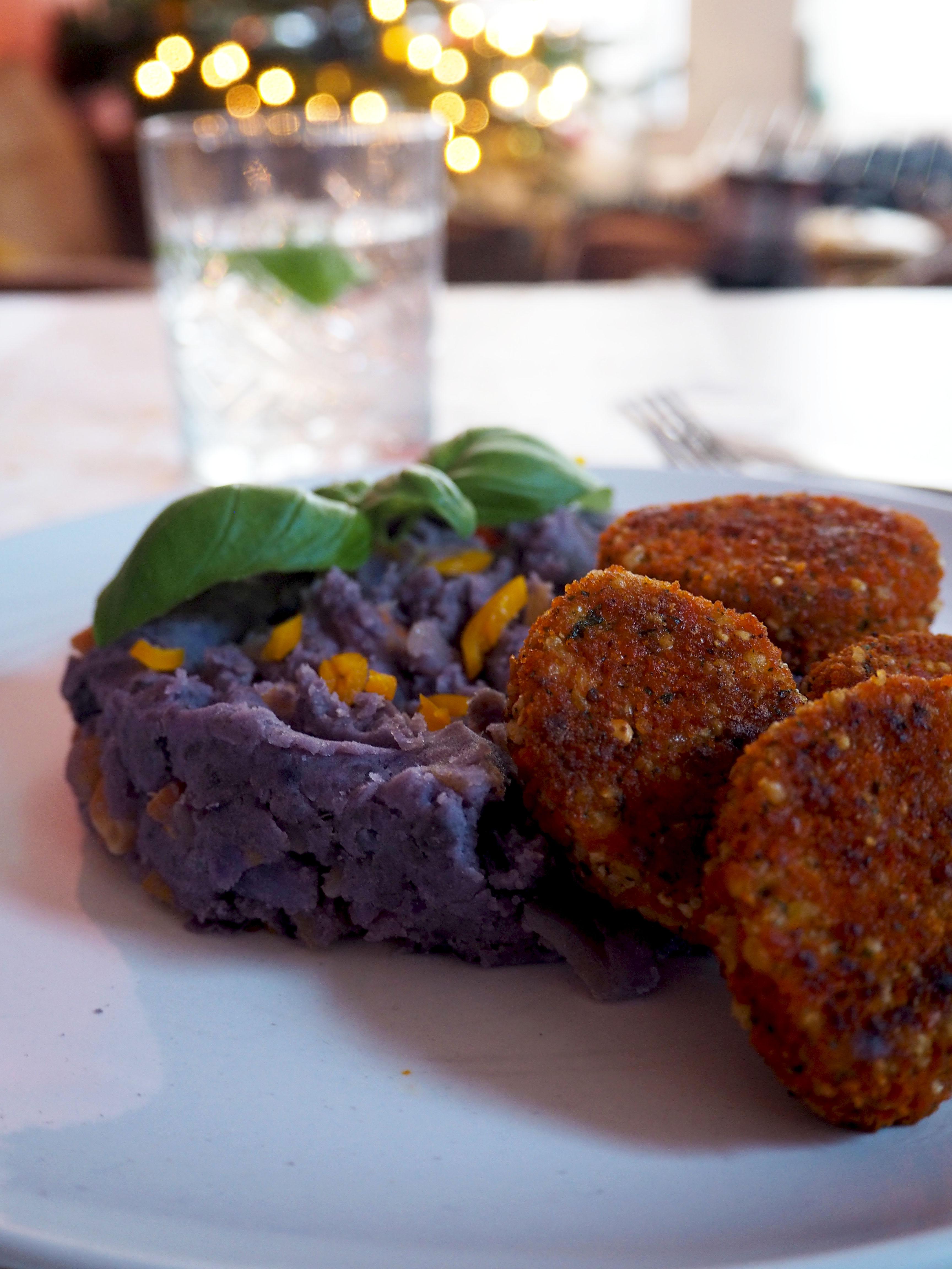 stamppot truffelaardappels met BOON nuggets