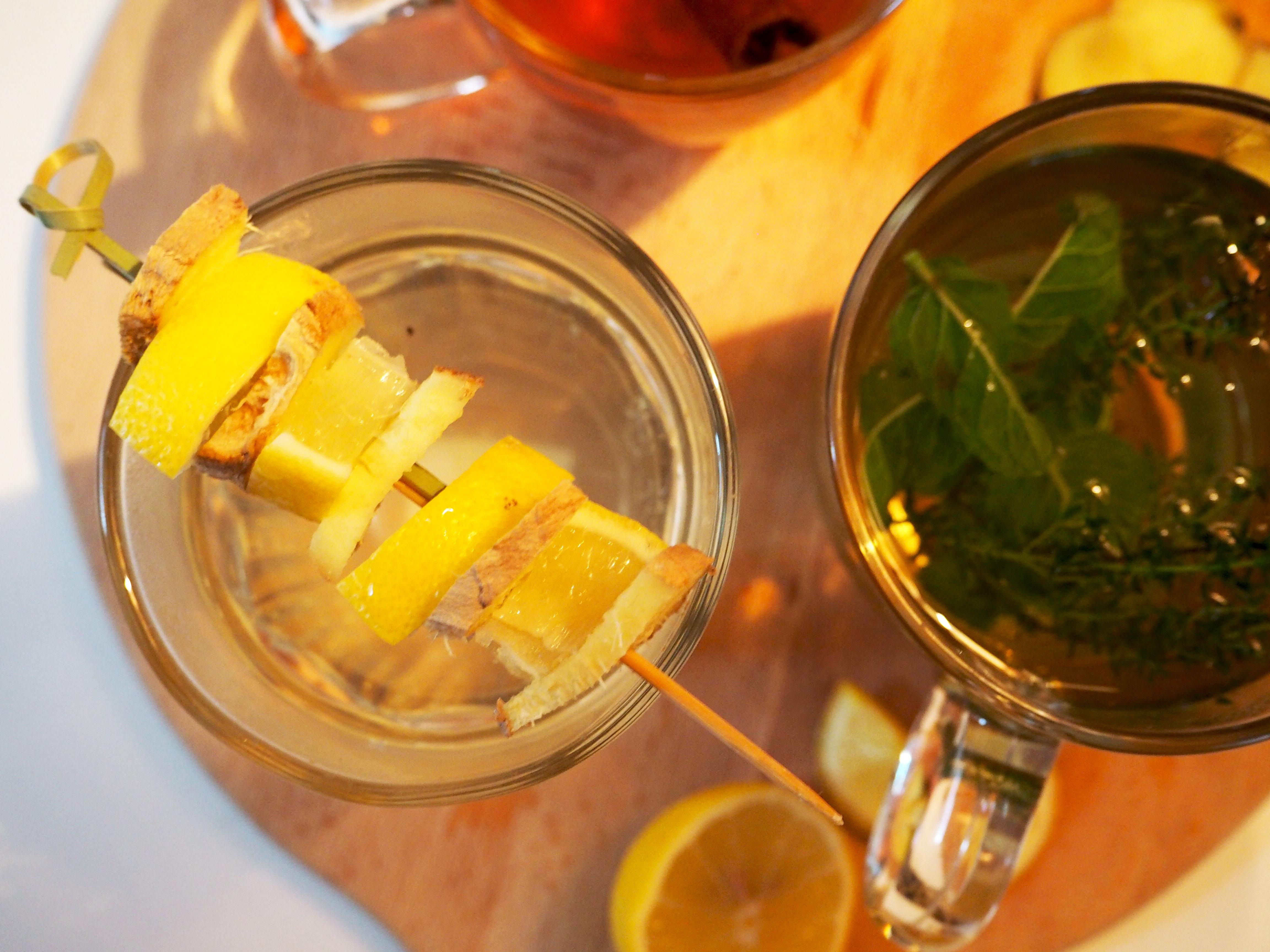 kruidenthee verkoudheid citroen gember