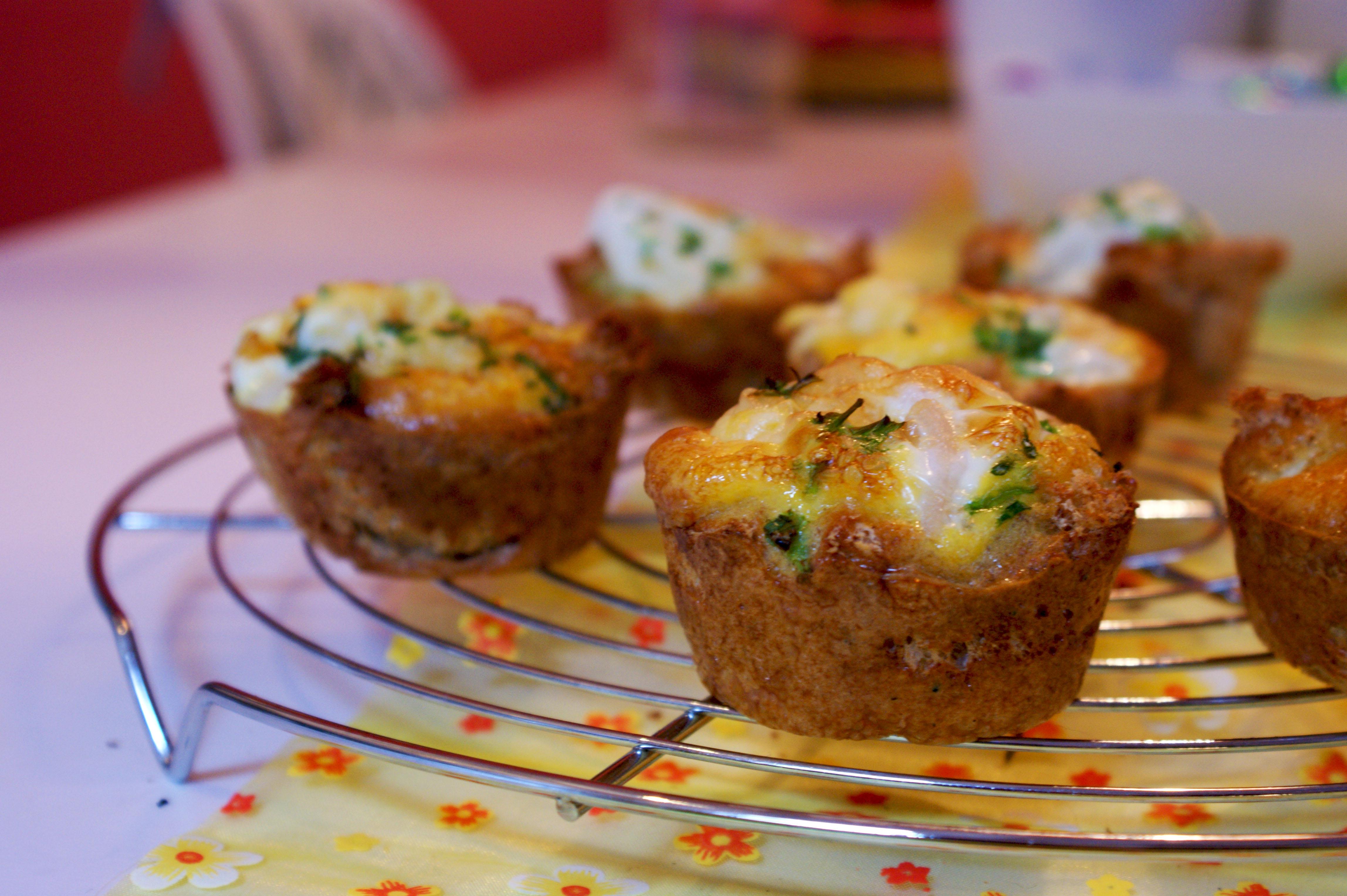 eimuffins voor pasen: paasrecept