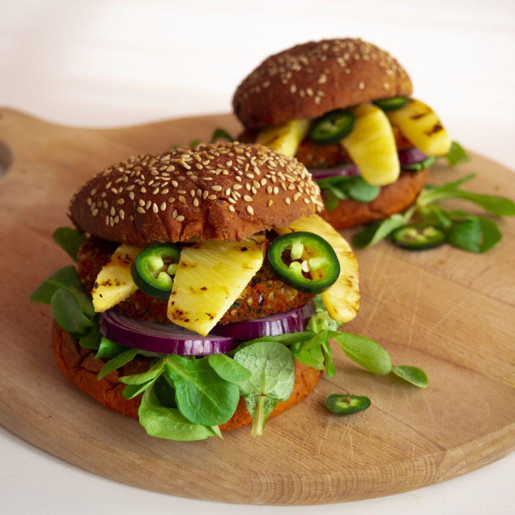 vegan hawaï BOON burger chili