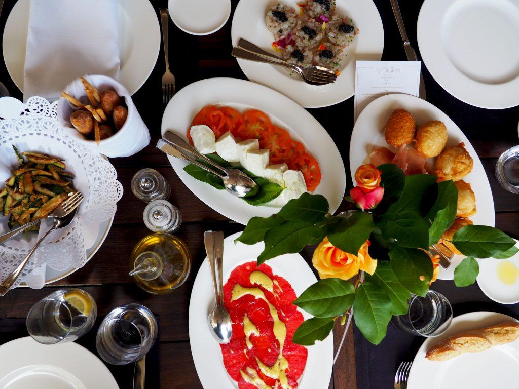 Tutti a tavola bij Roberto's Restaurant in Amsterdam