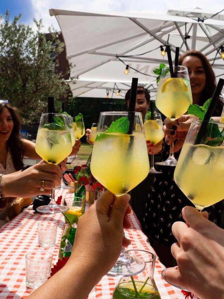 martini's by roma eindhoven limoncello spritz