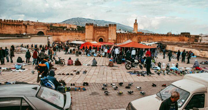 Marokko 19-21 maart 2015: Hassan II,Volubilis, Fez en Midelt.
