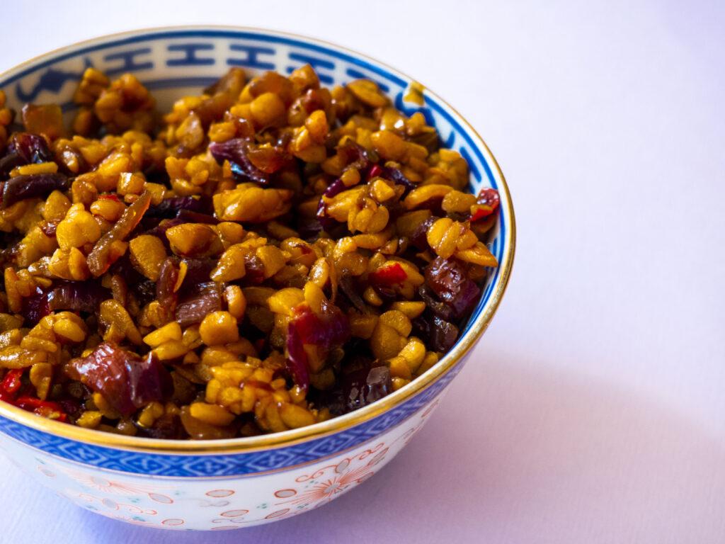 Sambal goreng tempeh – Indisch recept