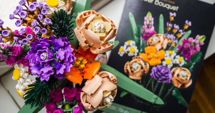 Lego Flower Bouquet van de Botanical Collection